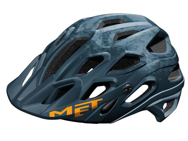 MET Lupo Cykelhjälm blå/Petrol